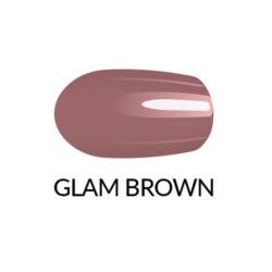 Лак для нігтів GLAM BROWN