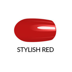 Nail Lacquer Stylish Red